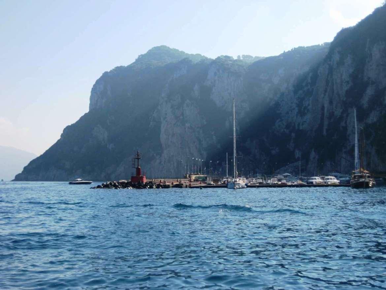 Italie-Capri - Traversée