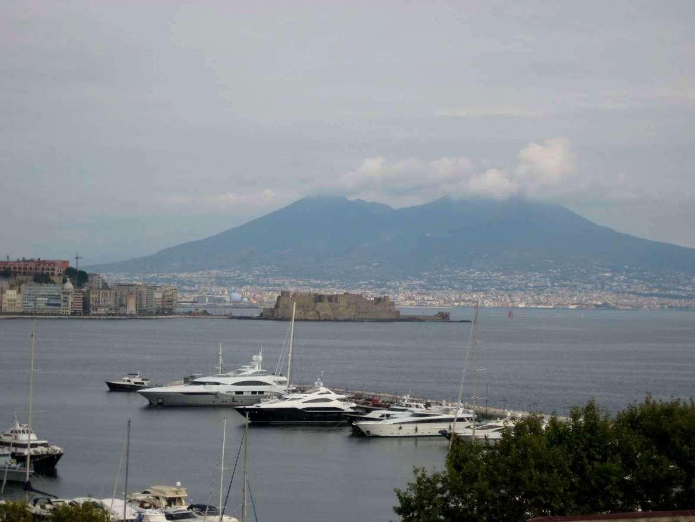 Italie-Naples- Vésuve