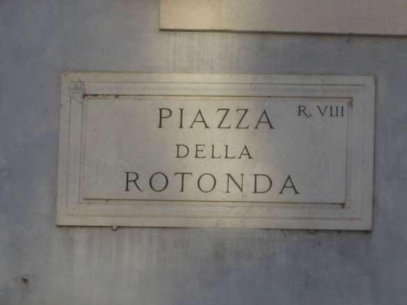 Italie-Rome -Piazza de la Rotonda Claironyva
