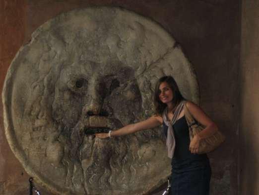 Italie-Rome Boca della Verita Claironyva