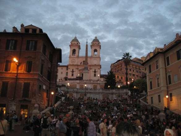 Italie-Rome Pizza di Spagna