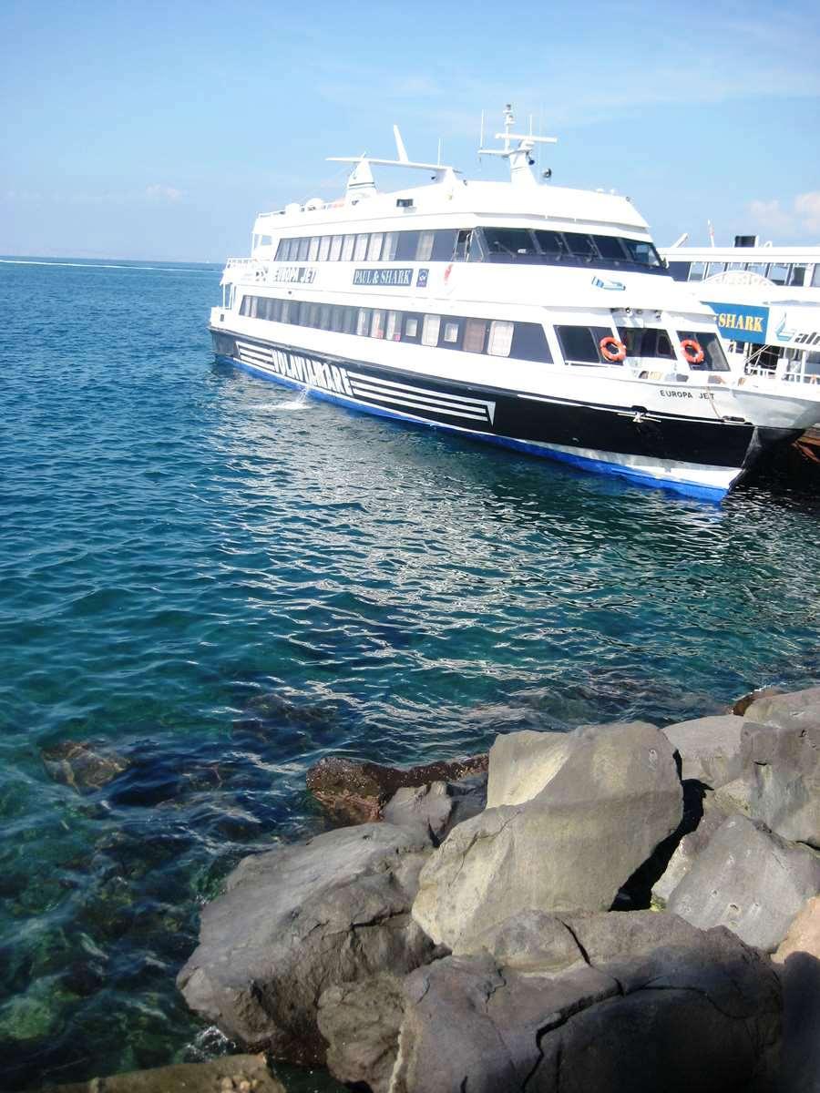 côte amalfitaine - Ferry pour Capri