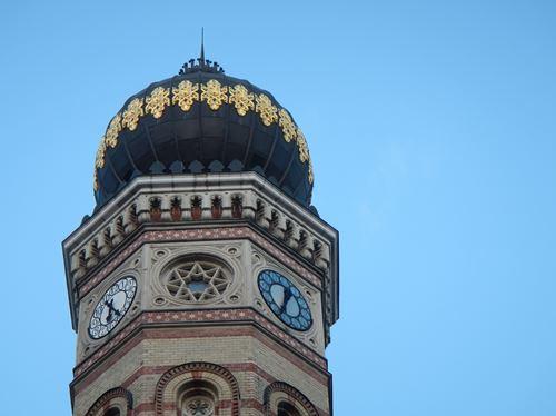Budapest synagogue Claironyva
