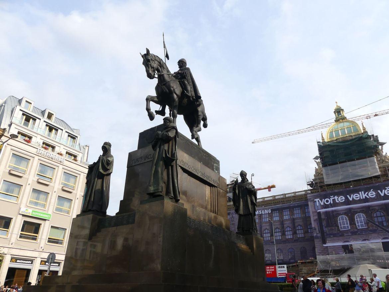 Prague Statue Venceslas