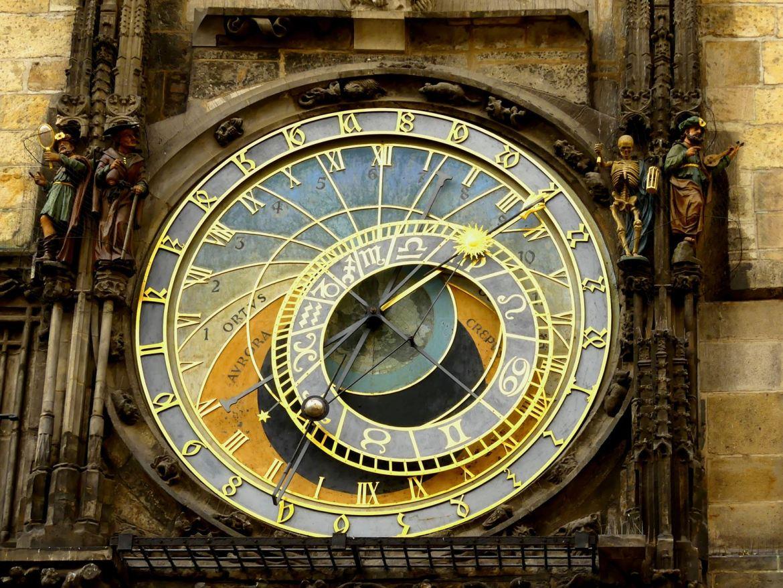 Prague Horloge astronomique Claironyva