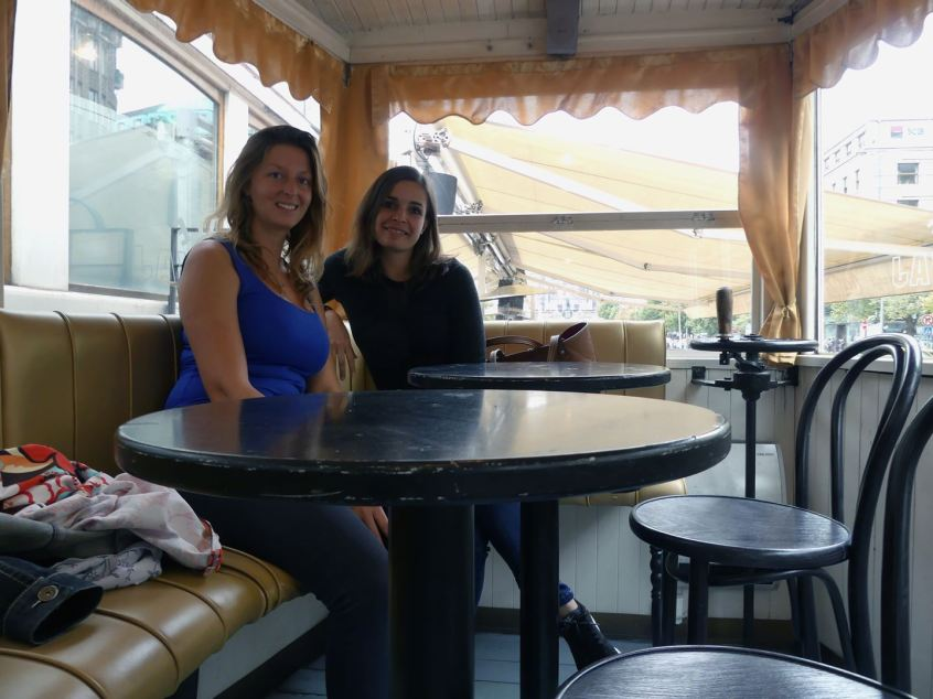 Prague pause café Claironyva