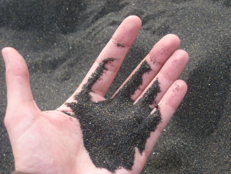 Tenerife Playa la Arena Sable noir Claironyva