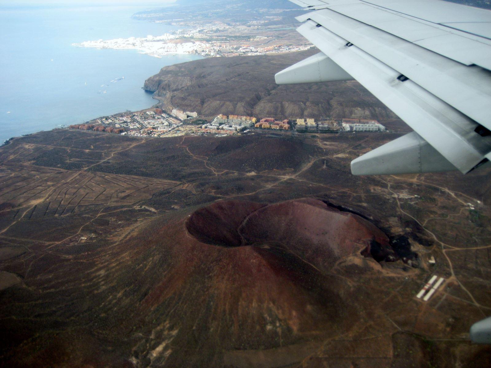 Tenerife Vol au dessus des volcans Claironyva