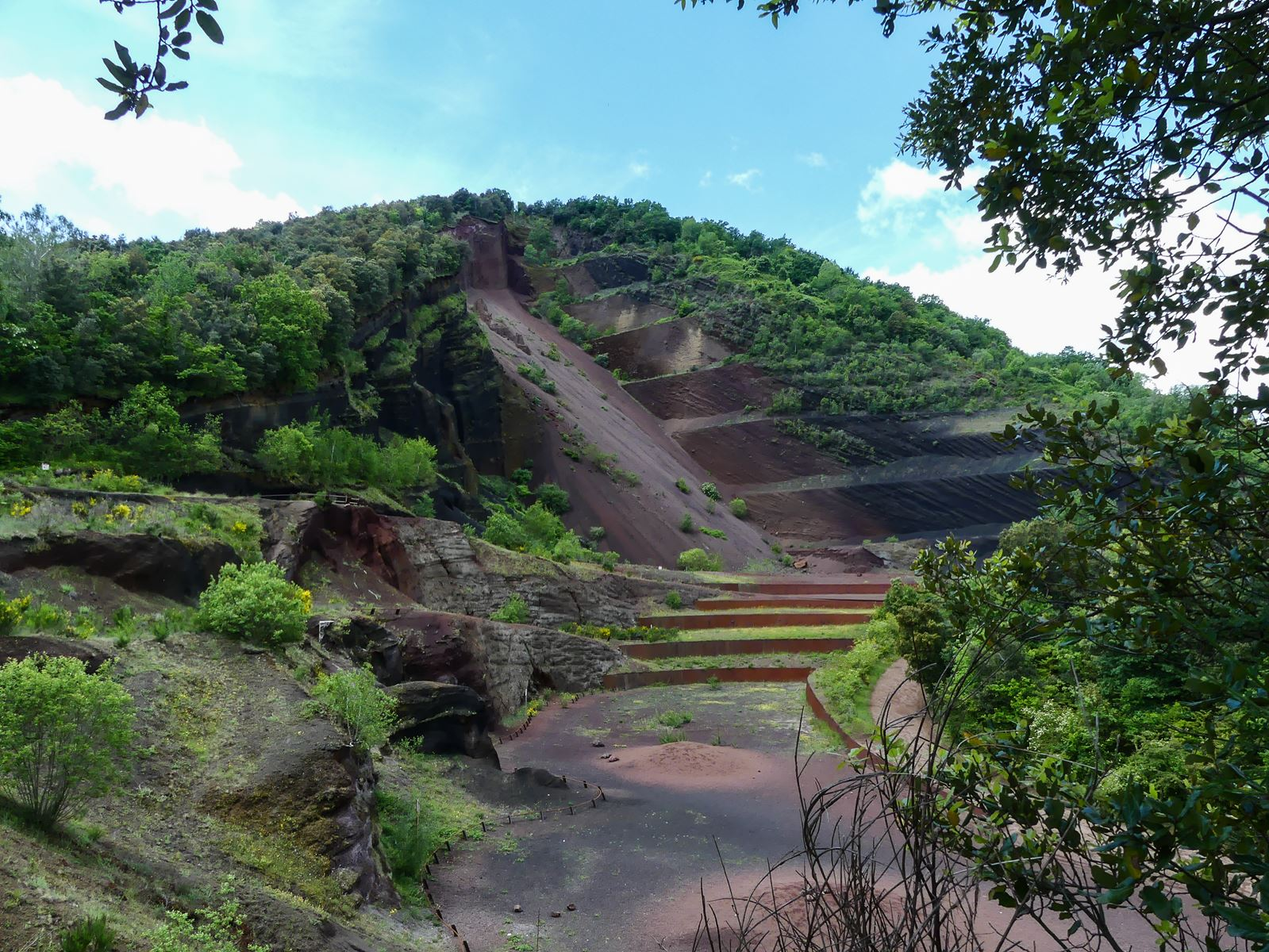 Claironyva Catalogne Garroxta Volcan