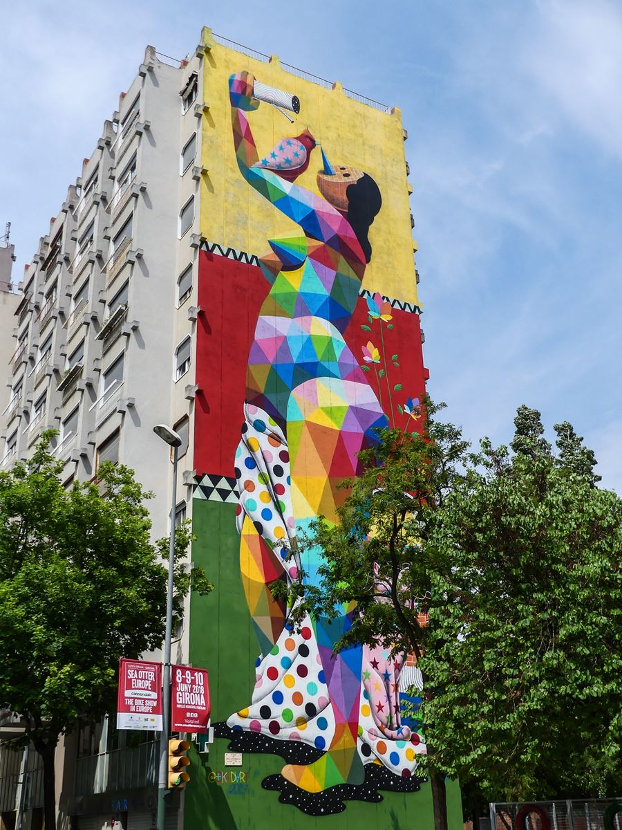 gerone claironyva week end- street art milestone project