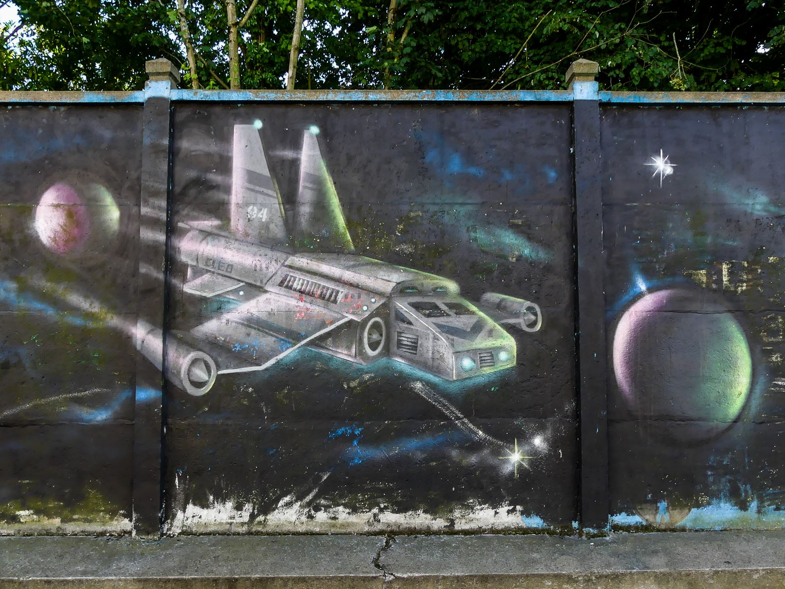 Claironyva Tours Val de Loire Tourraine France Street art