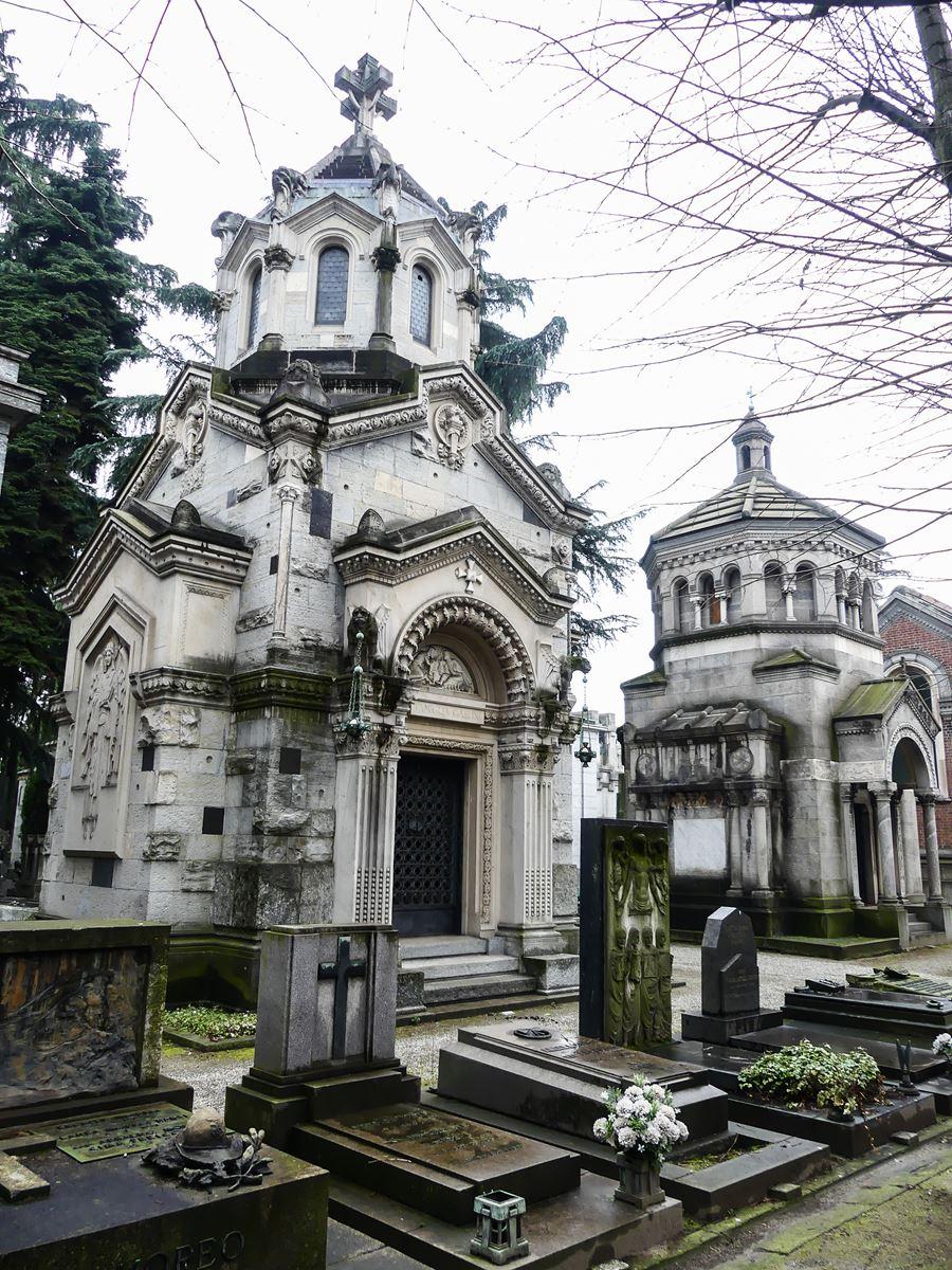 claironyva italie milan cimetière