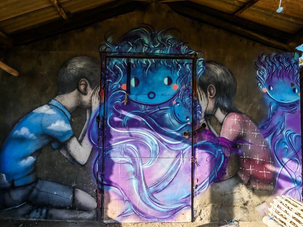 aliCanggu street art