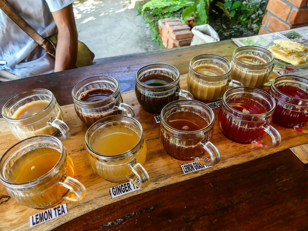 Munduk plantation café