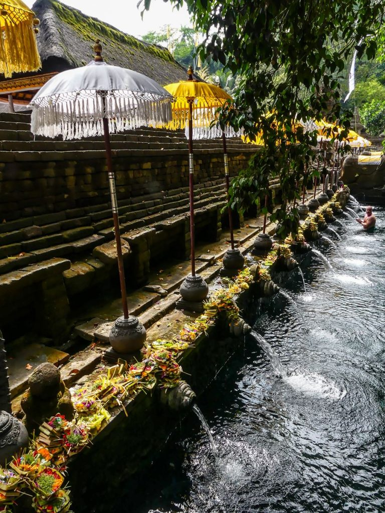 Bali Tirta Empul bassin de purification