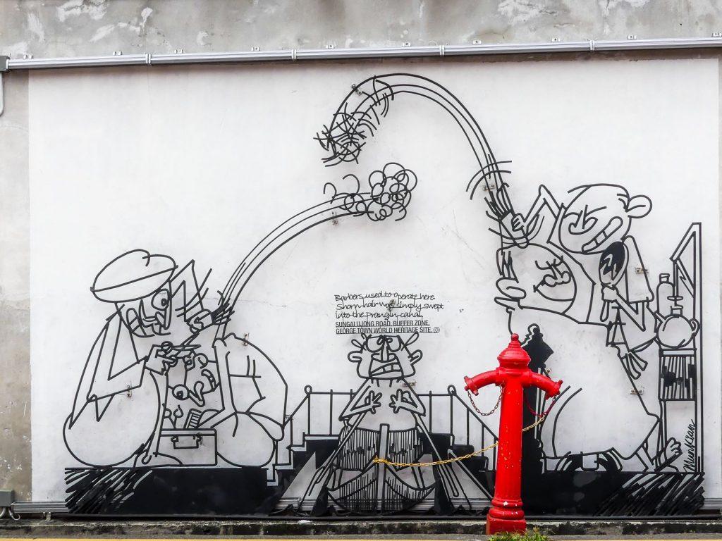 Oeuvre fer forgé - Street Art