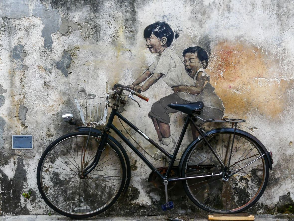 Street Art Ernest Zacharevic