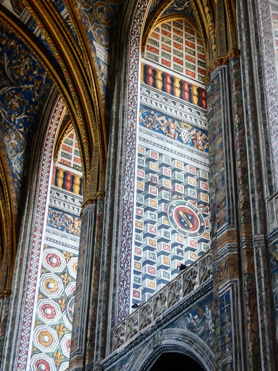 Cathédrale d'Albi intérieur