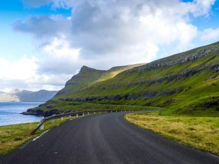 Route tranquille direction Klaksvik