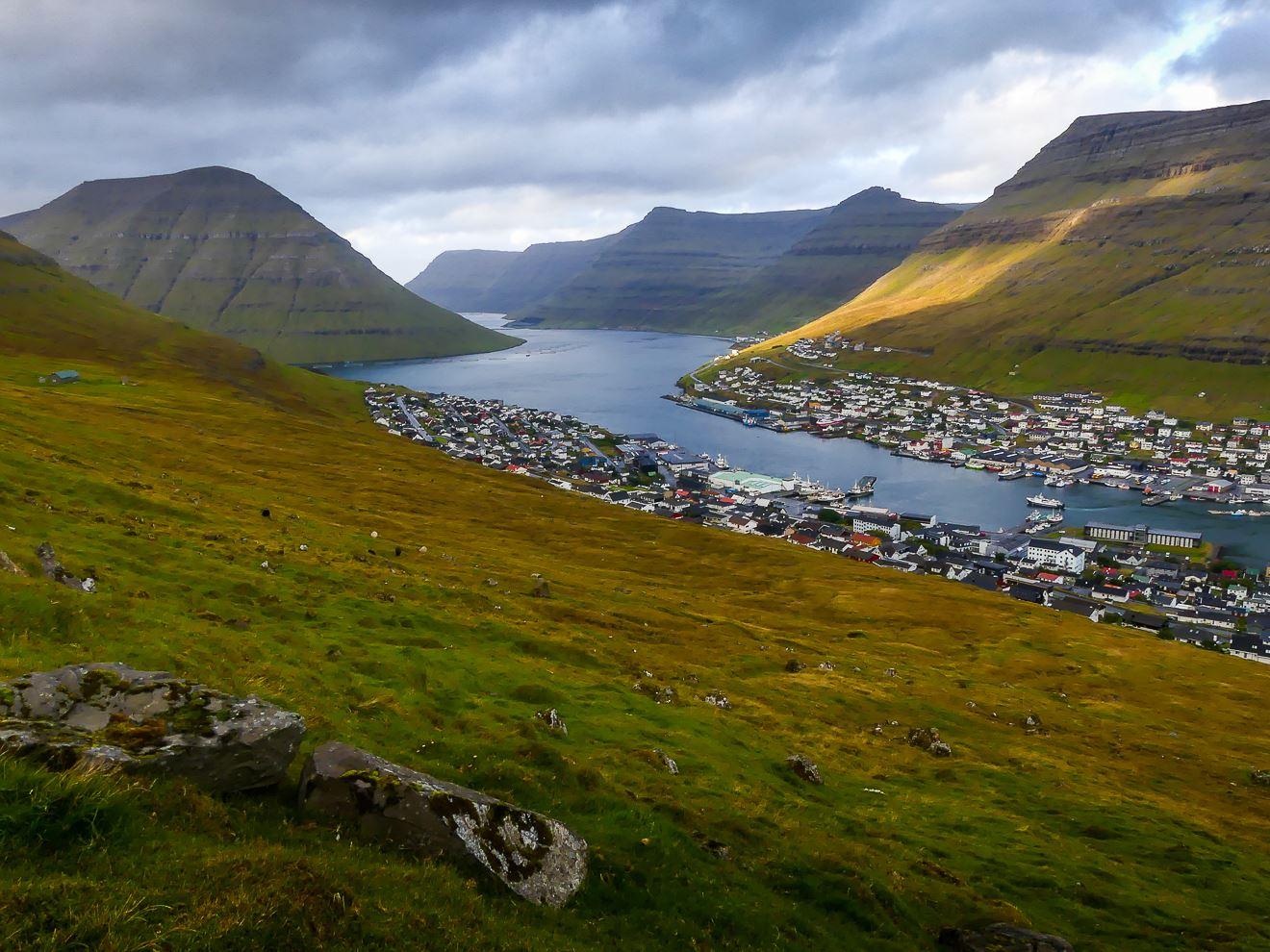 Iles Feroe : randonnée Hauteurs de Klaksvik