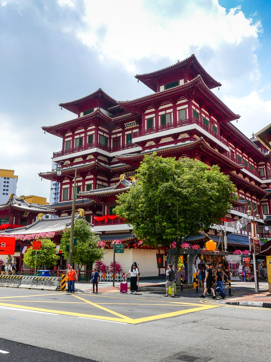 Chinatown Budda Tooth Relic Temple