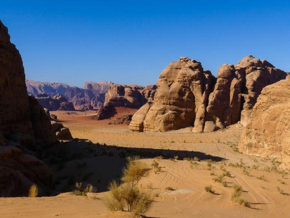 Wadi Rum : une vue magnifique sur le désert