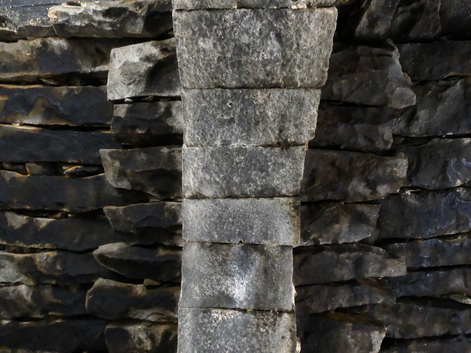 Jordanie - château du désert - Azrak - plafond/plancher en pierre