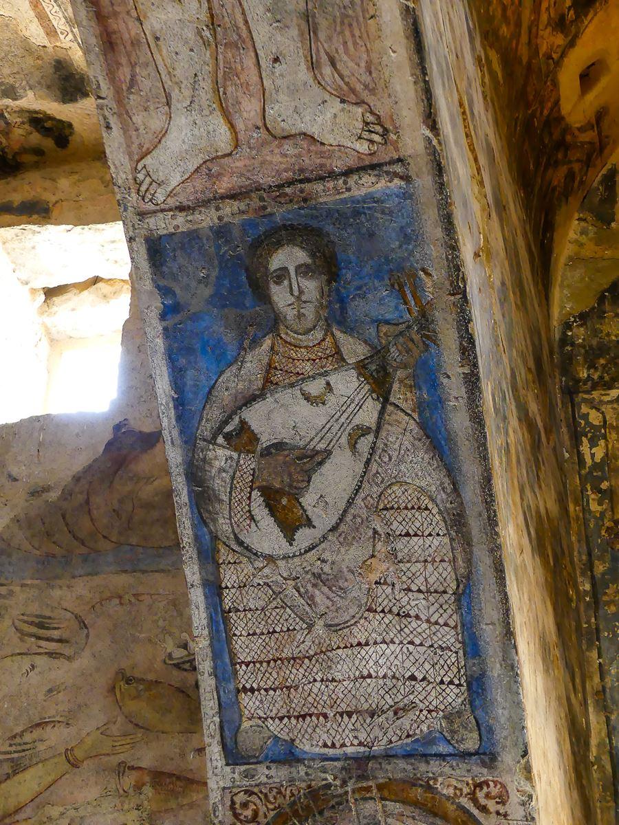Jordanie - châteaux du désert - Qasr Al Amra