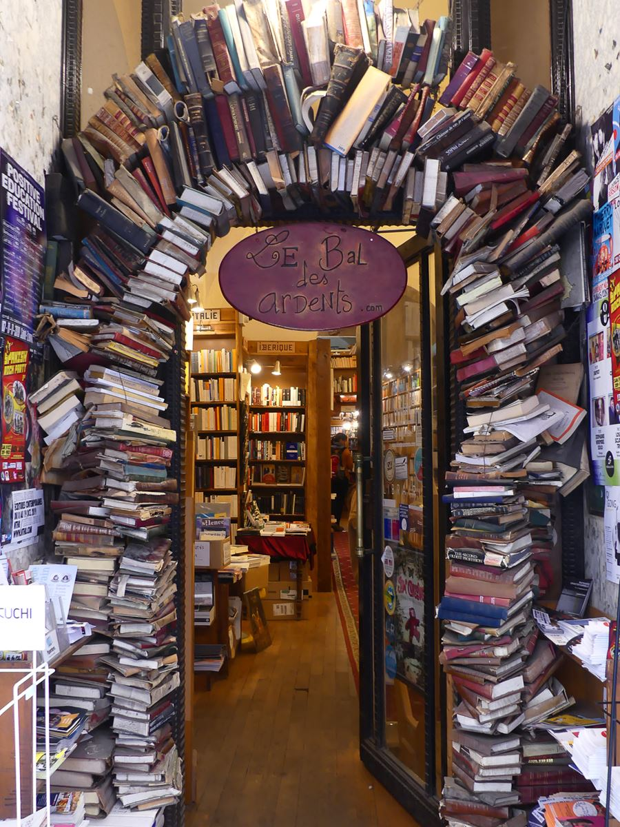 Lyon-librairie Bal des Ardents