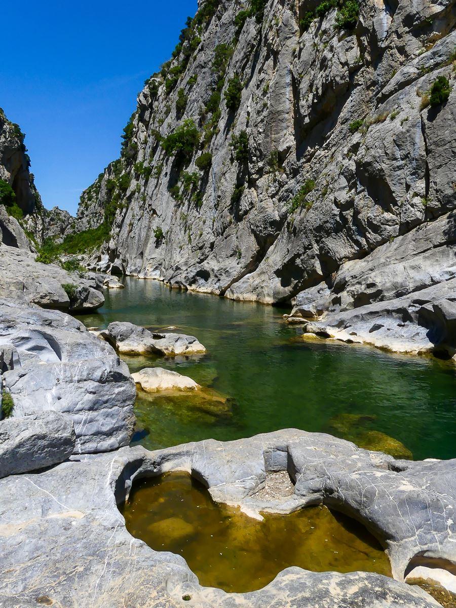 Gorges du Gouleyrous - Pyrénées Orientales