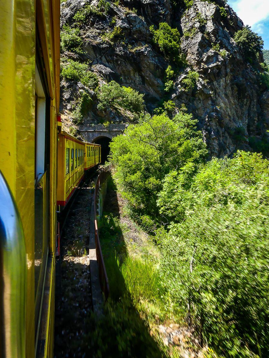 Train Jaune depuis Villefranche