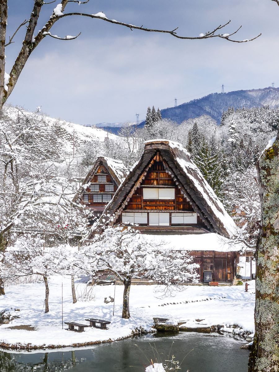 Open air museum de Shirakawa-go