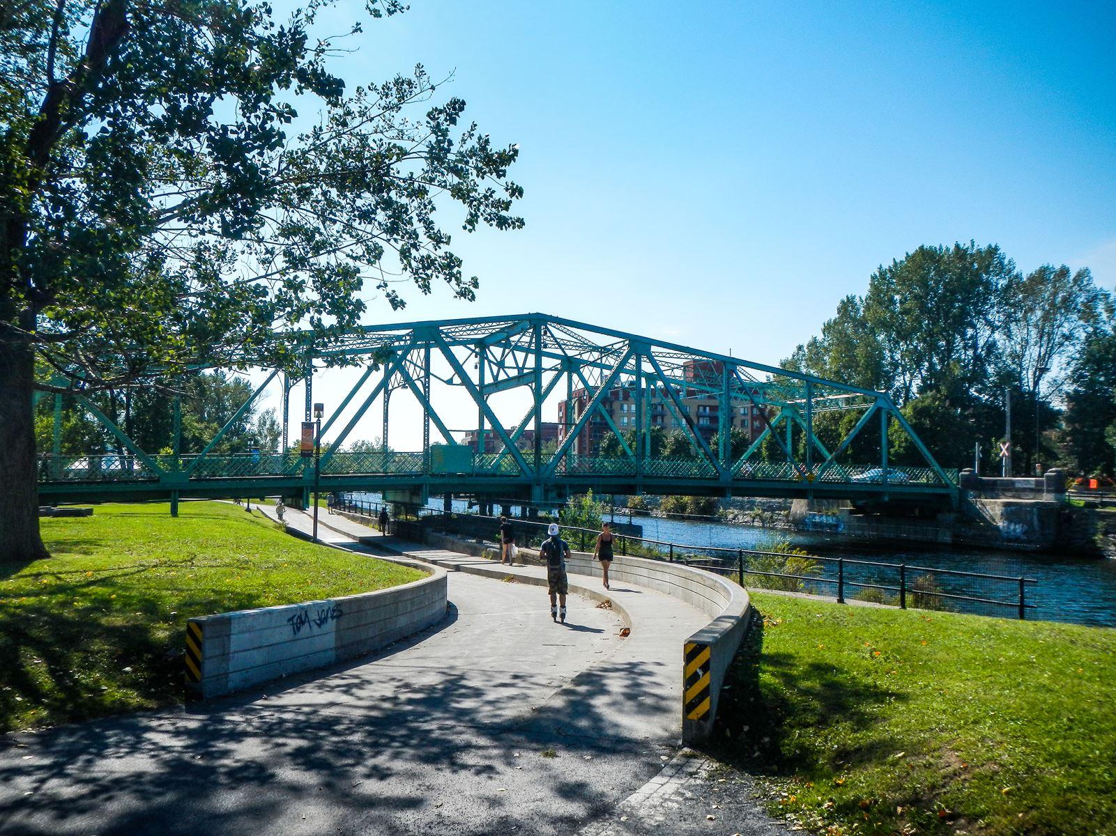Balade le long du canal Lachine
