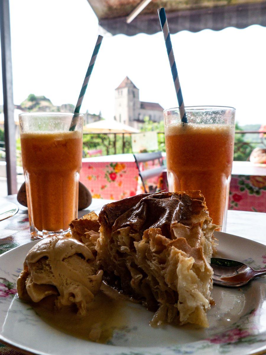 Un pastis pour goûter au Saint Cirq Gourmand