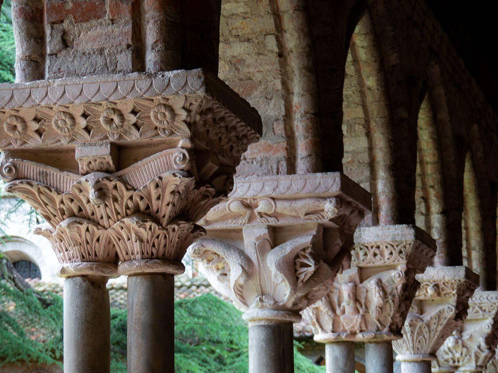 Visite du cloître de Moissac