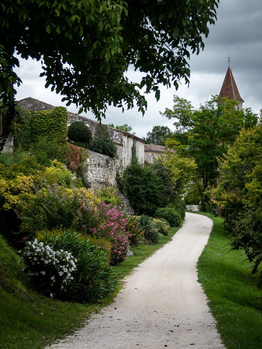 Visite de la bastide de Montjoi