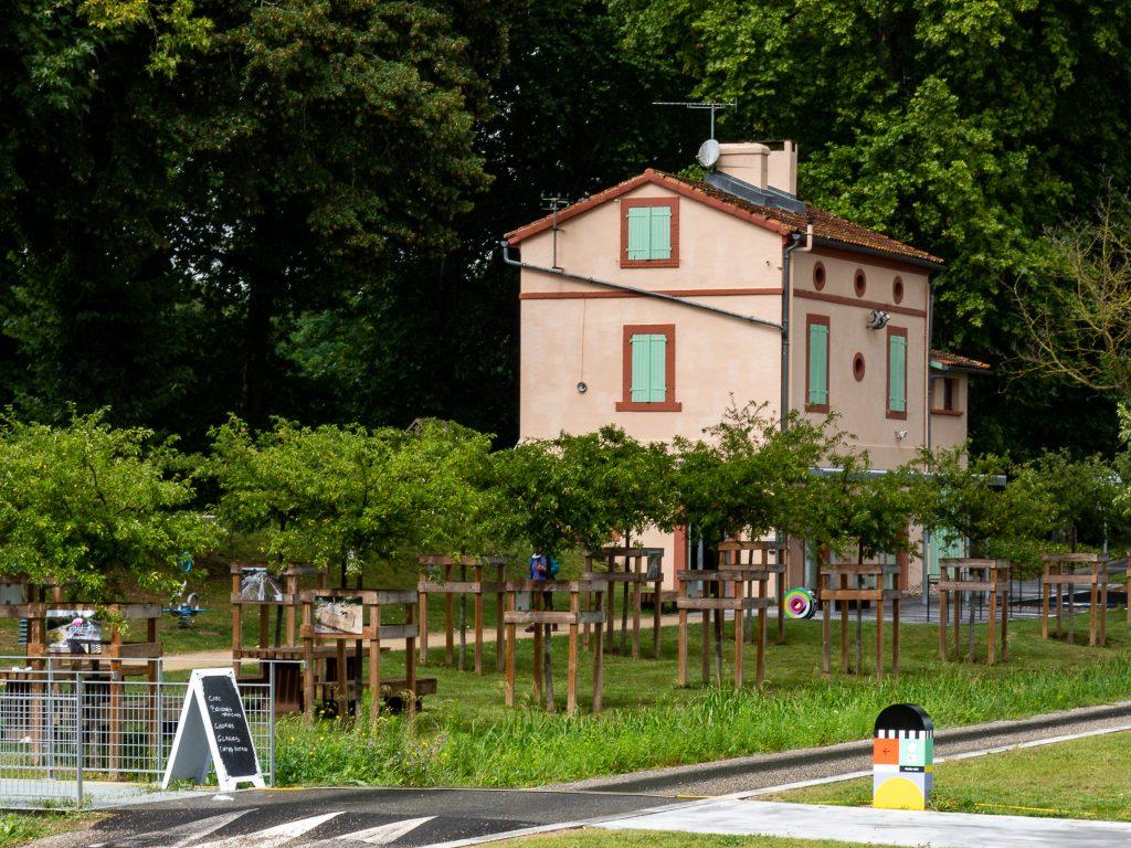 Maison éclusière de Montech