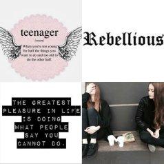 rebellious insta aesthetic