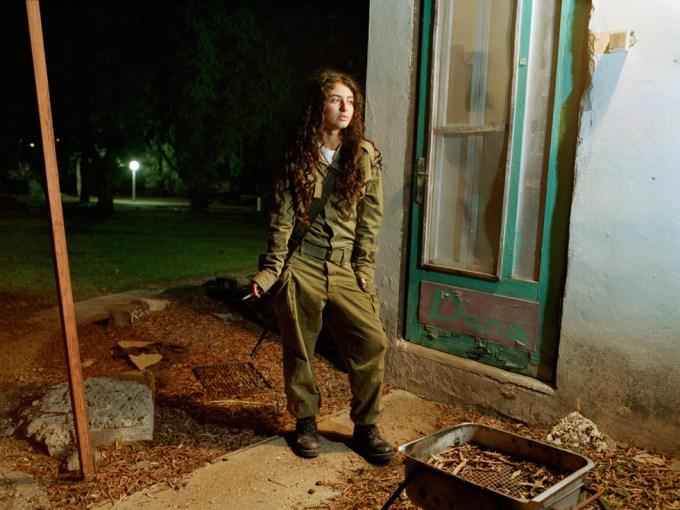 Rachel Papo, Sniper instructor, Kibbutz Kfar Hanassi, Israel