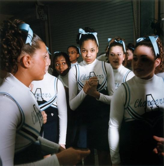 Brian Finke, Untitled (Cheerleading 21)