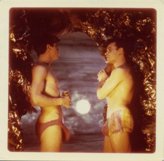 James Bidgood, At Cave Opening, Sandcastles [046]
