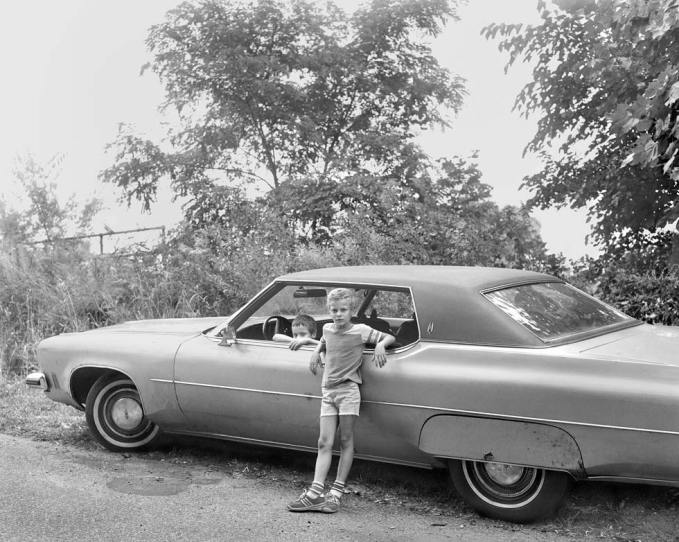 Christine Osinski, Two Boys with Automobile