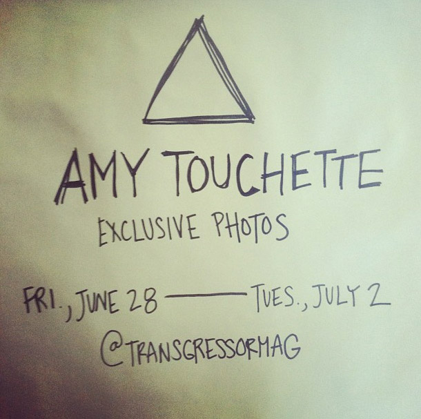 Amy Touchette, Transgressor Magazine, Instagram