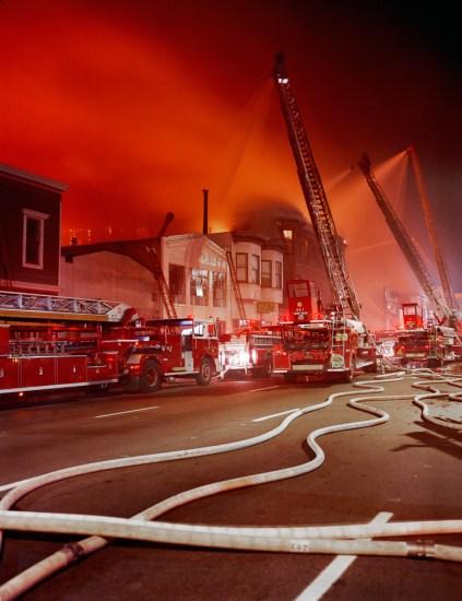 Janet Delaney, Five Alarm Fire, July 10th, 1981, Folsom Street