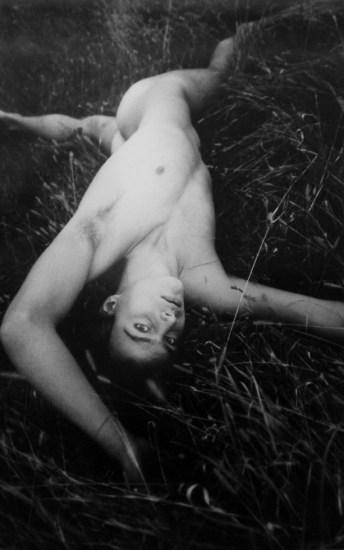 David LaChapelle, Nude Male in the Grass