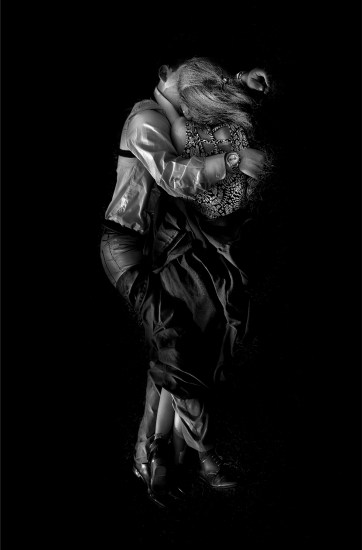 Michael Massaia, Couple #1 (Vertical Abstract)