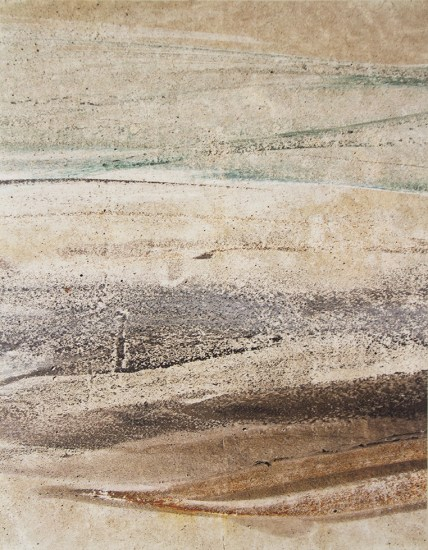 John Gilliland, Untitled (Scrape—Rust)
