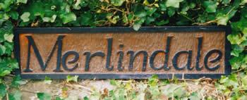 Merlindale sign