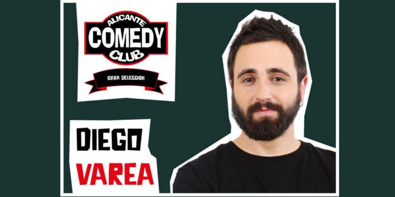 Sábado 6 de Mayo. Alicante Comedy Club con Diego Varea