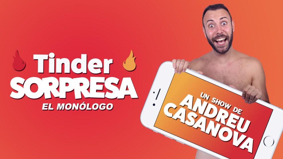 Tinder sorpresa | Andreu casanova | 01 diciembre